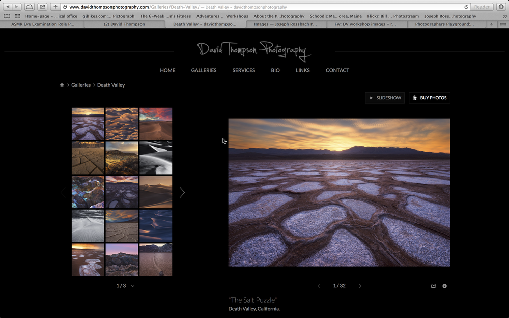 Check out an even greater selection of David's amazing images from Death Valley National Park on his website. Click on the image to explore!
