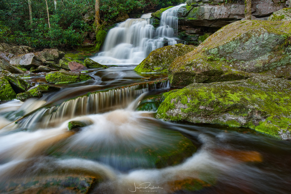 West Virginia Waterfalls Workshop  -  June 1-3, 2018 (Sold Out)