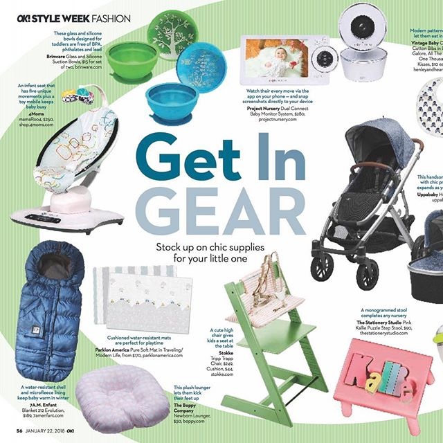 We're so excited to be featured in this list of baby must-haves in @okmagazine ! Pick up your copy today! Thank you @newbloommedia 😊