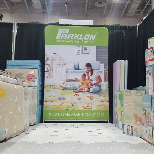 We're at #jpmababyshow! Come visit us at Booth 1236. Consumer show is this Saturday 3/24! Get your tix at jpmababyshow.org. Use promo code PARKLON50 for 50% off tix! #dcbabyshow #parklonamerica