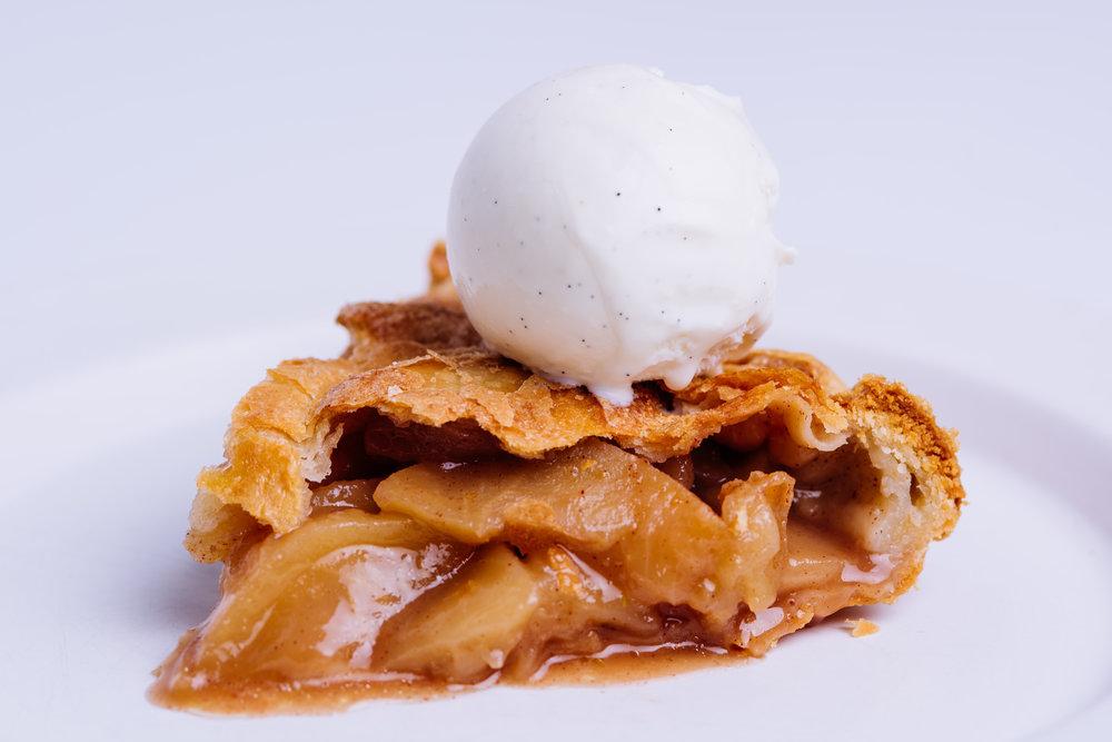 Cinnamon Apple Pie Slice