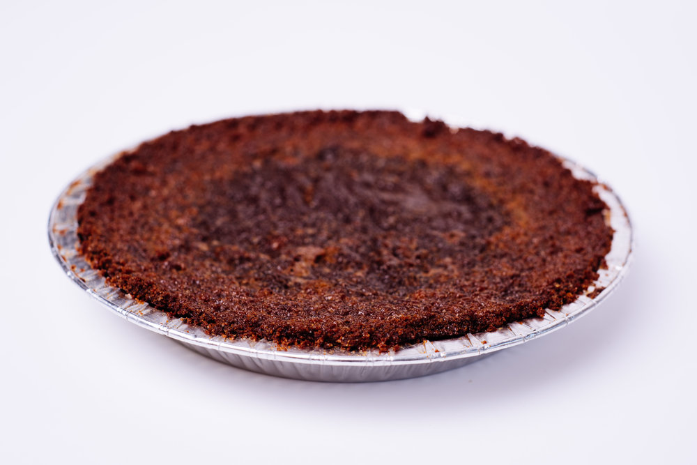 Indian Custard Pie with Cornbread Crust