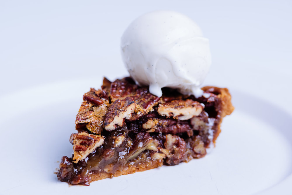 Bourbon Pecan Pie Slice