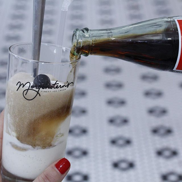 Have a Coke Float. Cheers! #cokefloat