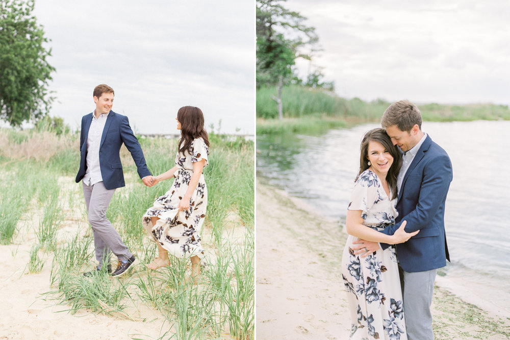Lauren Werkheiser Photography - Annapolis Wedding Photographers - Kent Narrows Engagement Session - MD Film Wedding Photographers - MD Waterfront Wedding Venues - Annapolis Wedding Venues - Chesapeake Bay Weddings - Davey and Krista 2.jpg