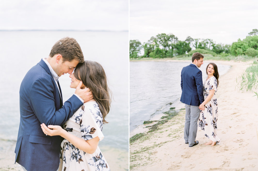 Lauren Werkheiser Photography - Annapolis Wedding Photographers - Kent Narrows Engagement Session - MD Film Wedding Photographers - MD Waterfront Wedding Venues - Annapolis Wedding Venues - Chesapeake Bay Weddings - Davey and Krista.jpg