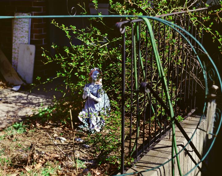 Spring Yard, Troy,  NY,   2006