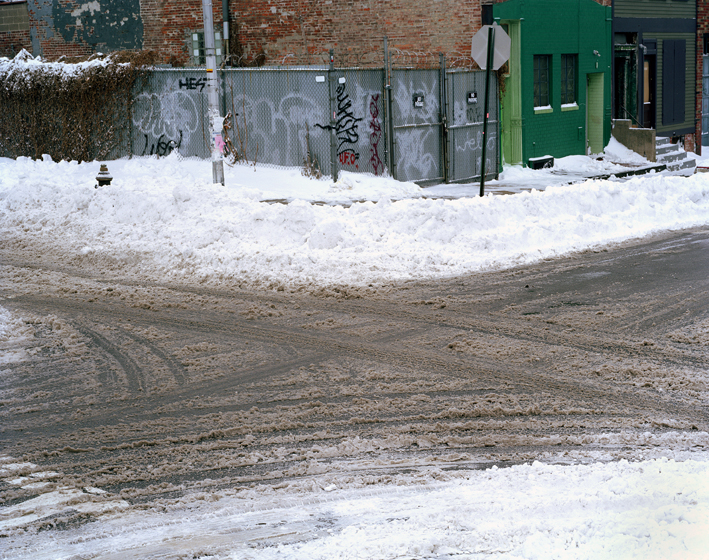 Snow Divination, Brooklyn, NY,  2002
