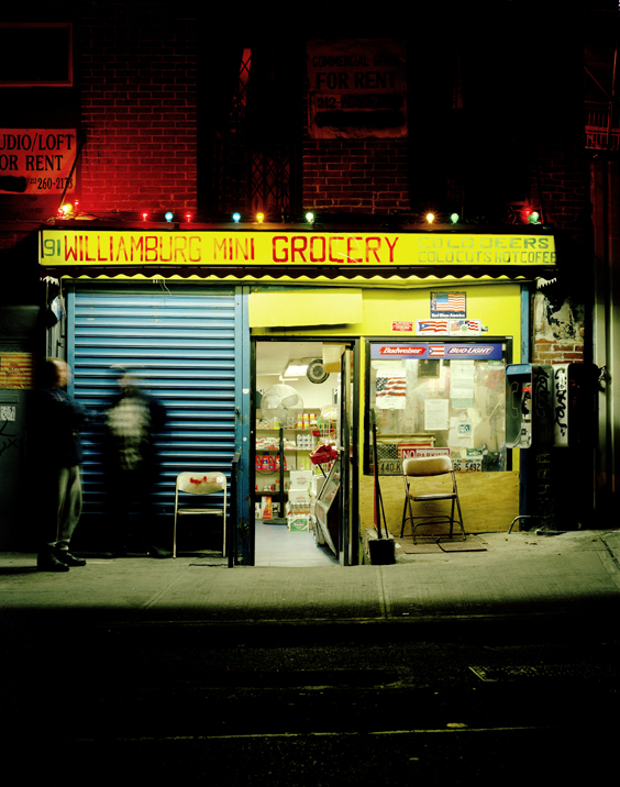 South 6th Bodega, Brooklyn, NY,   2002