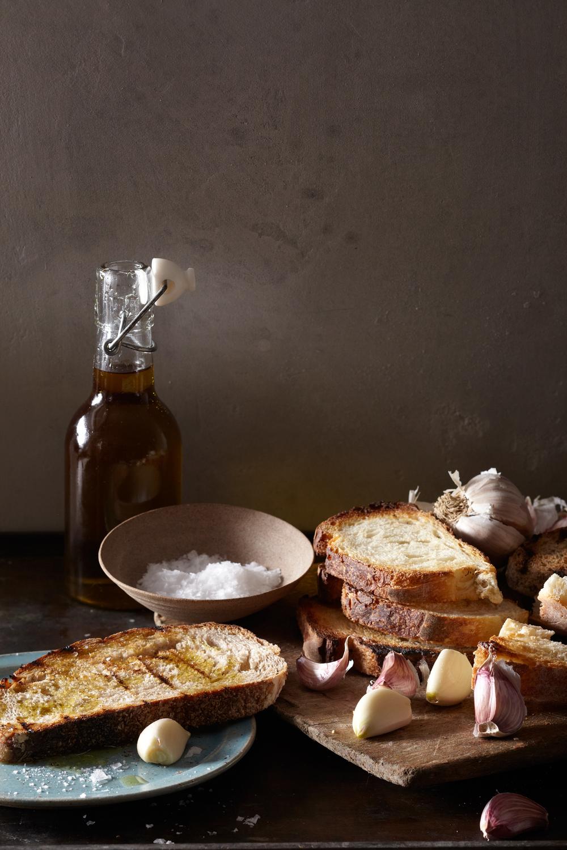 real garlic toast