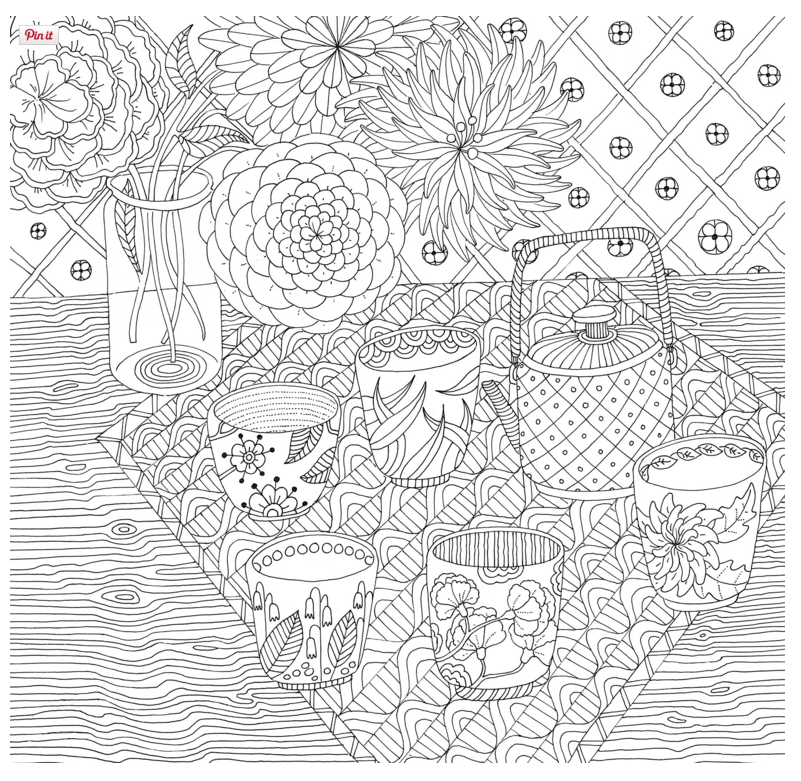 Free Coloring Pages Of Zen Coloring Pages Adults Zen