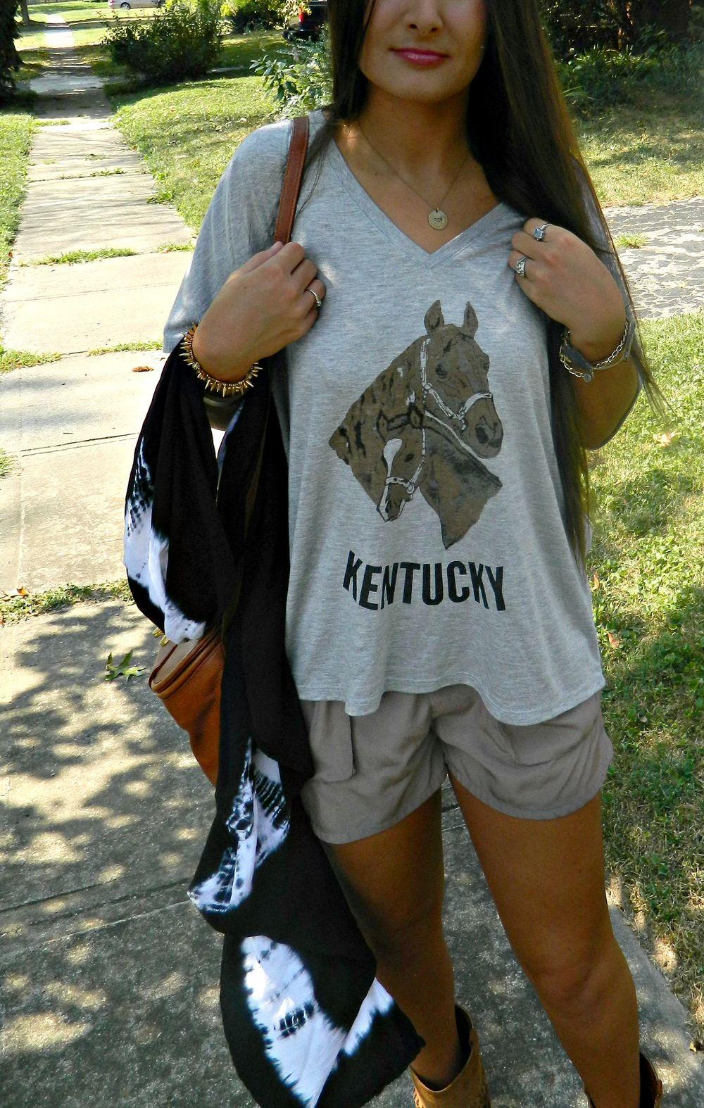 Weekend Wardrobe The Kentucky Souvenir Tee Gathered Mercantile - 859 area code