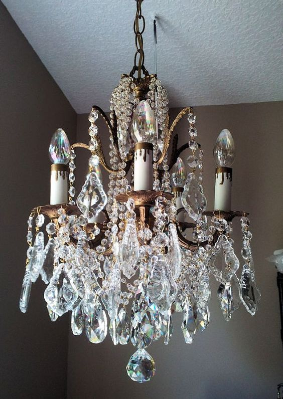 Chandelier- center of room