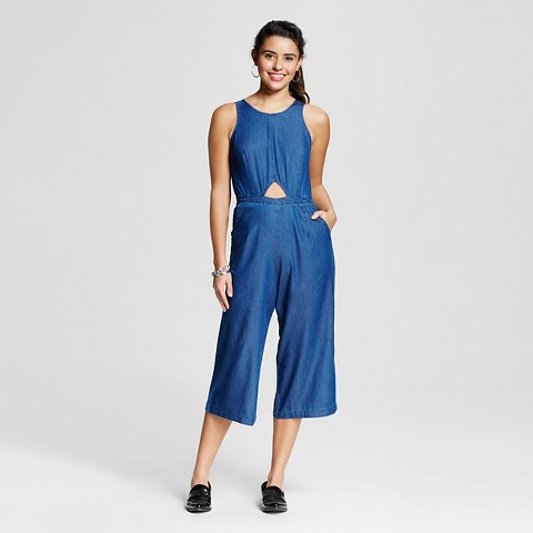 Chambray jumpsuit- Target