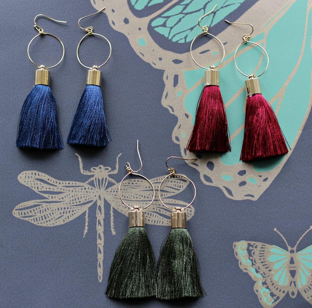 Fringe Earrings $18