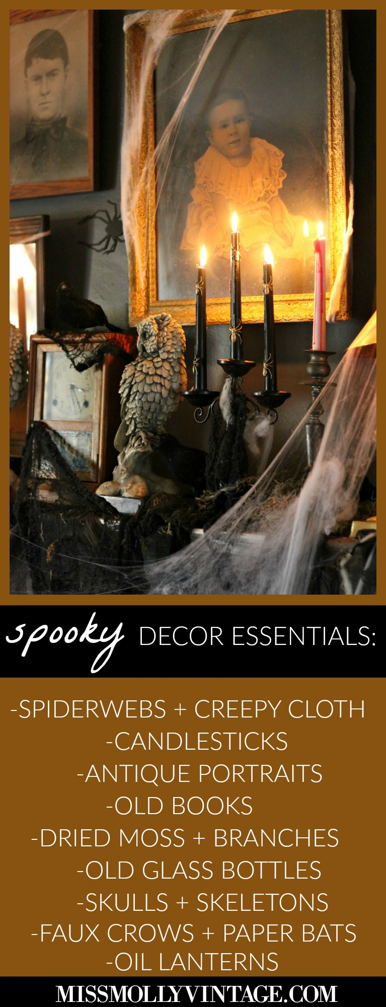 Spooky Halloween Decorating on a Budget
