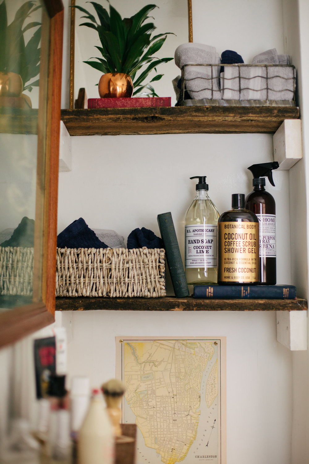 My bathroom photographed by Sarah E Dunn Photo + Design