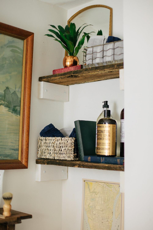 My bathroom photographed by Sarah E Dunn Photo + Design