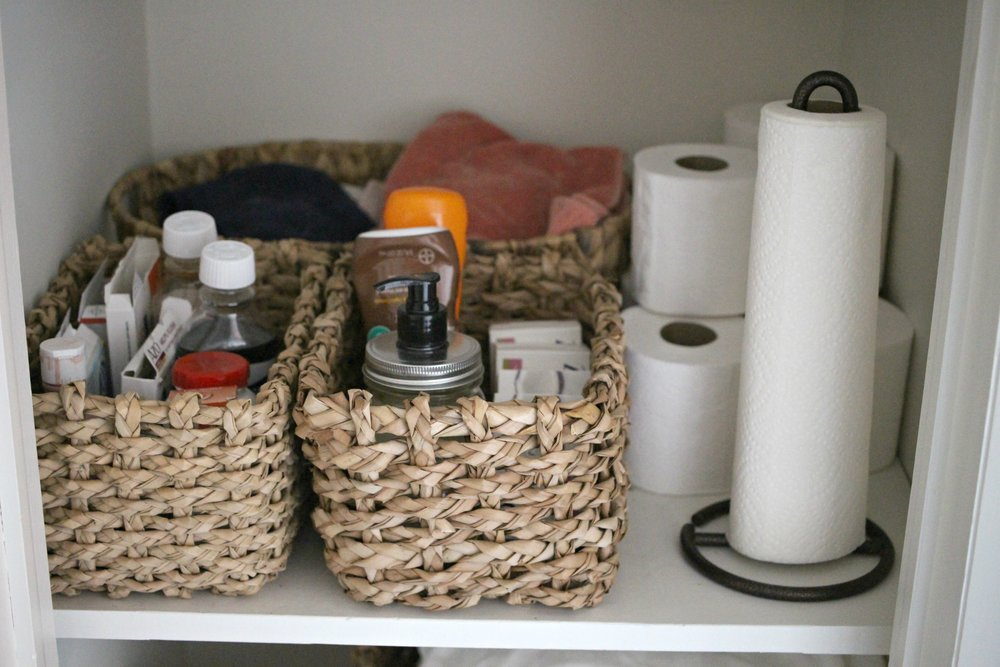 As Always, My Top Tip Would Be To Take Everything You Can Out Of Packages  And Use Lots Of Baskets And Containers To Keep Everything Corralled.