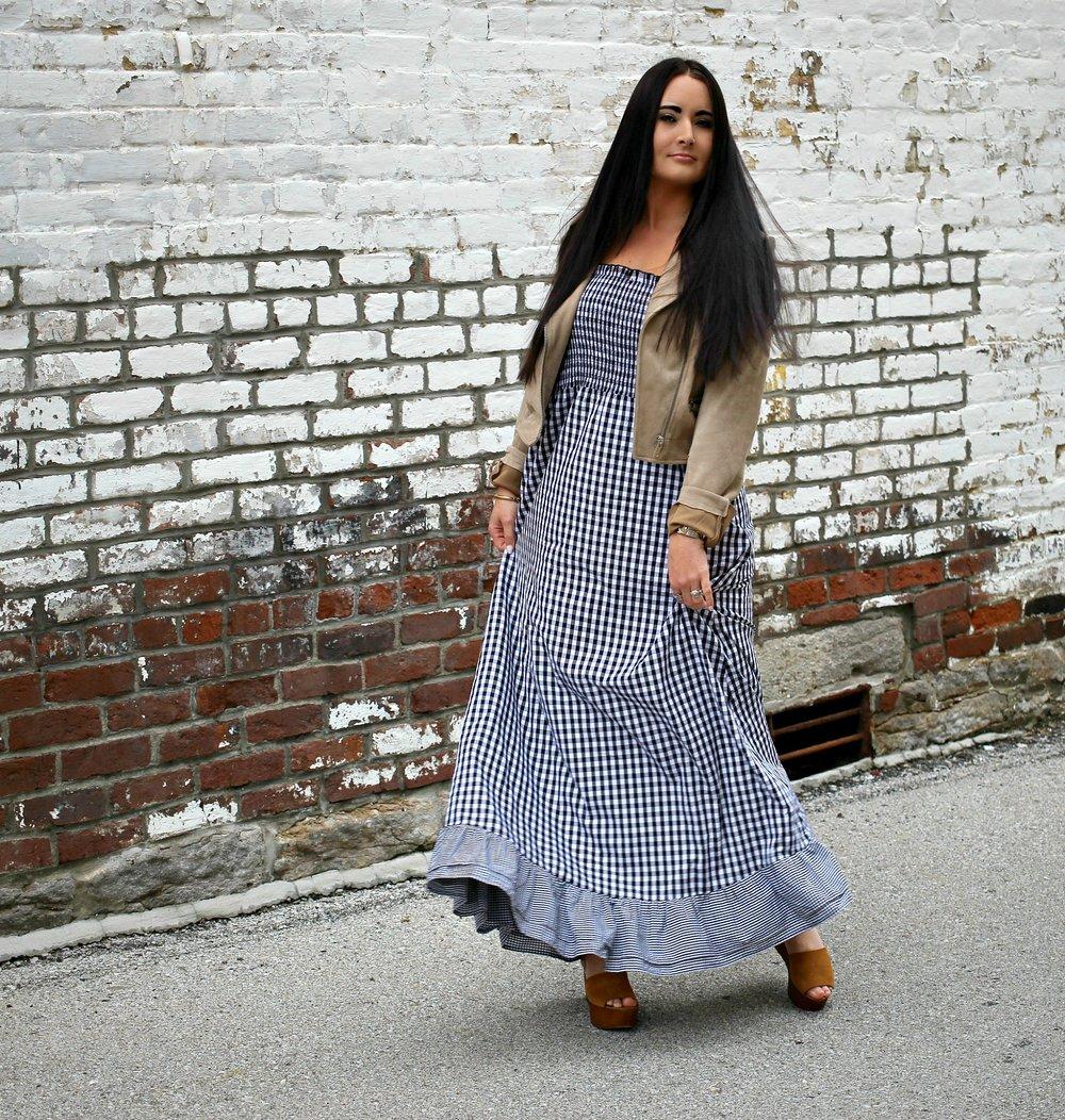 Dress- Blush Box Co.  |  Wedges  | Jacket (old- similar here)