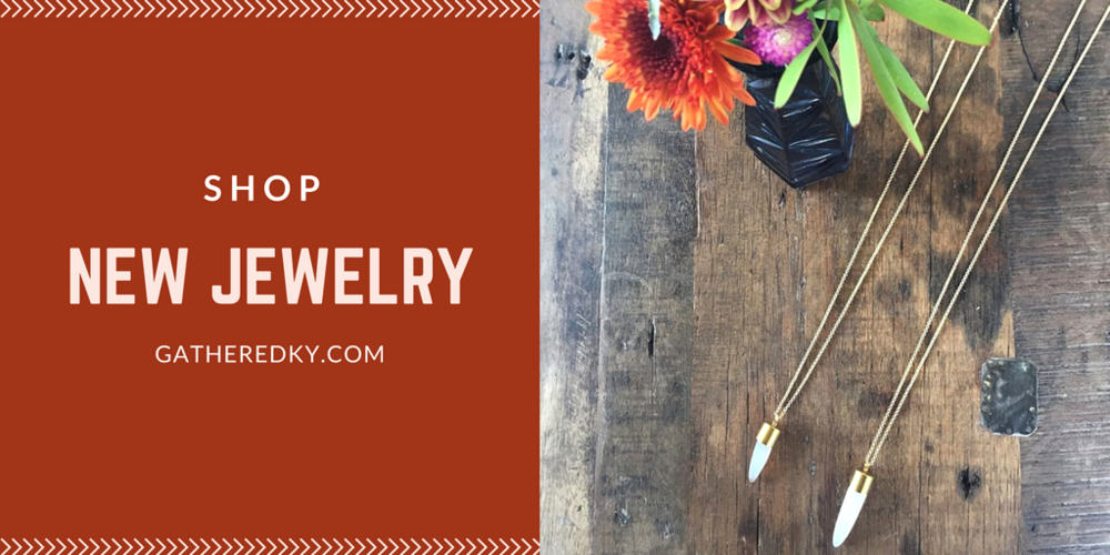 863b0c6b4619 What's NEW: Fall Jewelry — Gathered Living