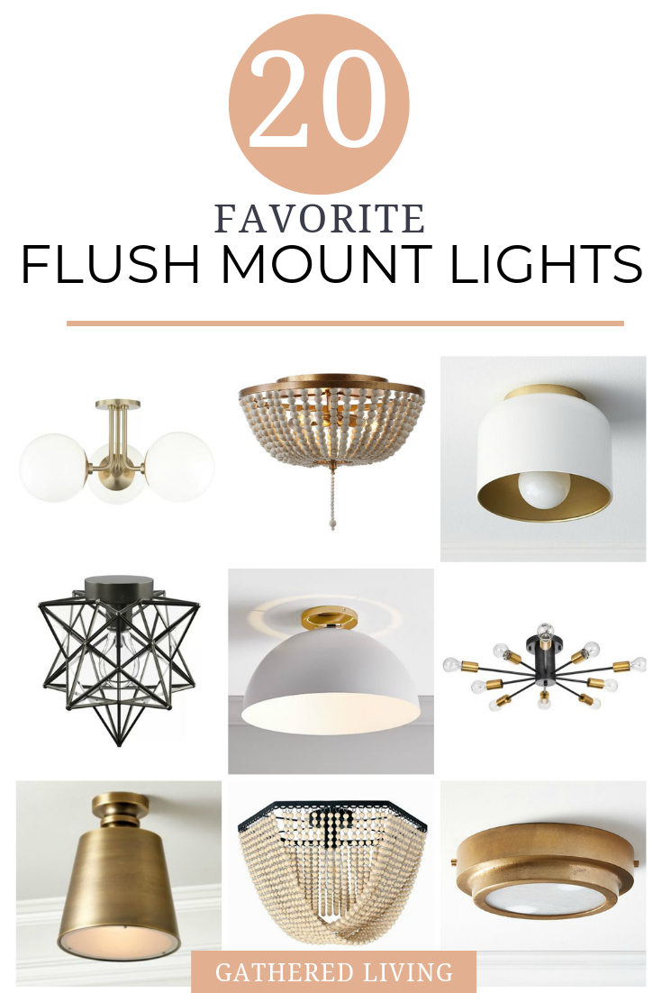 Picture of: 20 Best Modern Flush Mount Light Fixtures Gathered Living