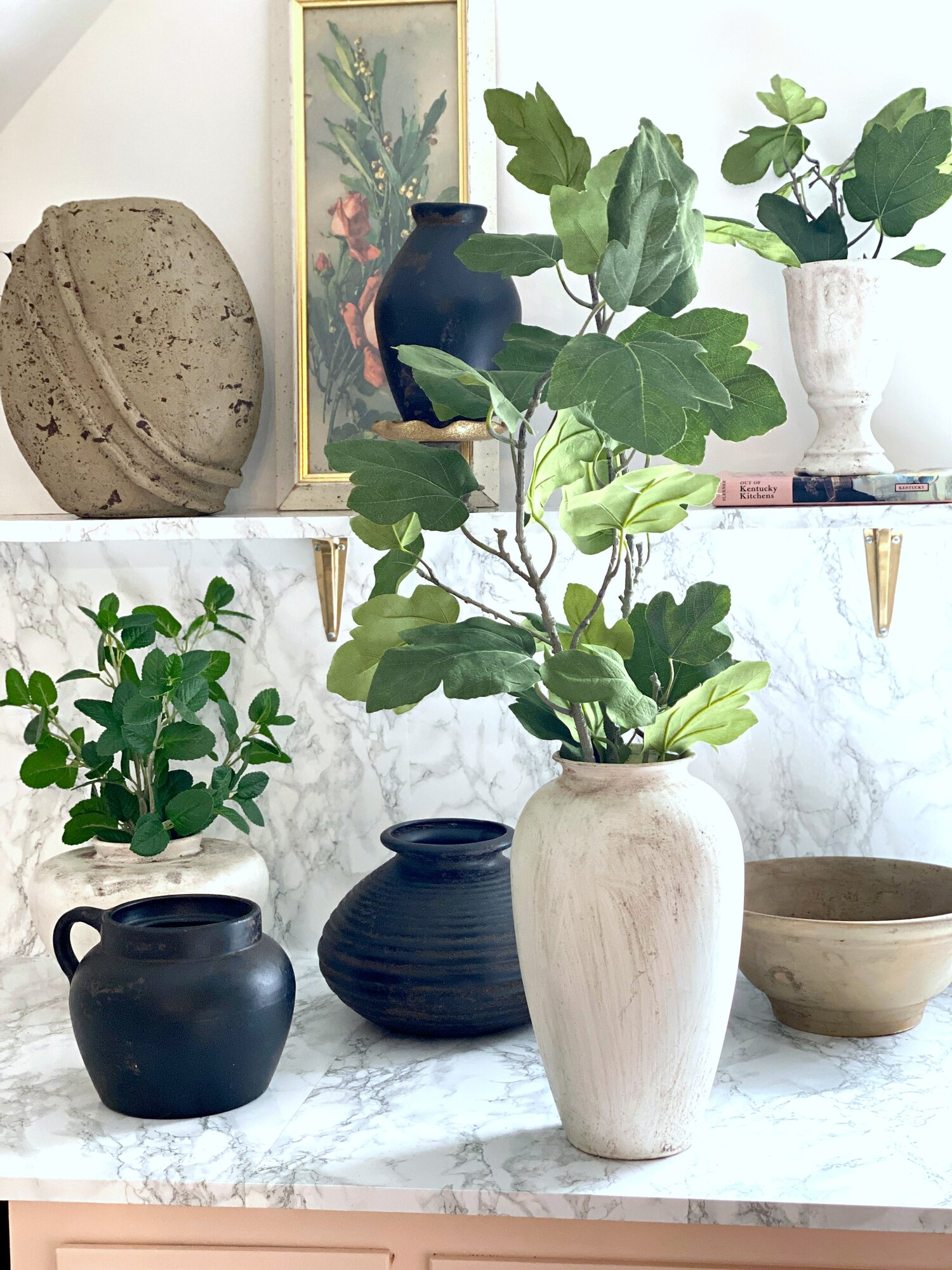 Diy Aged Pots Vases Pottery Barn Look For Less Using Thrift Store Finds Gathered Living