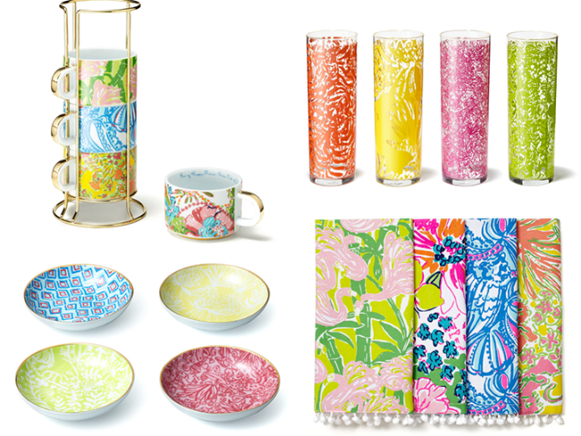 housewares collection Lilly Pulitzer for Target