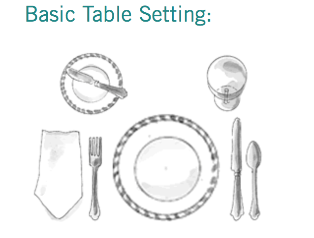 Table Settings — traceytoole