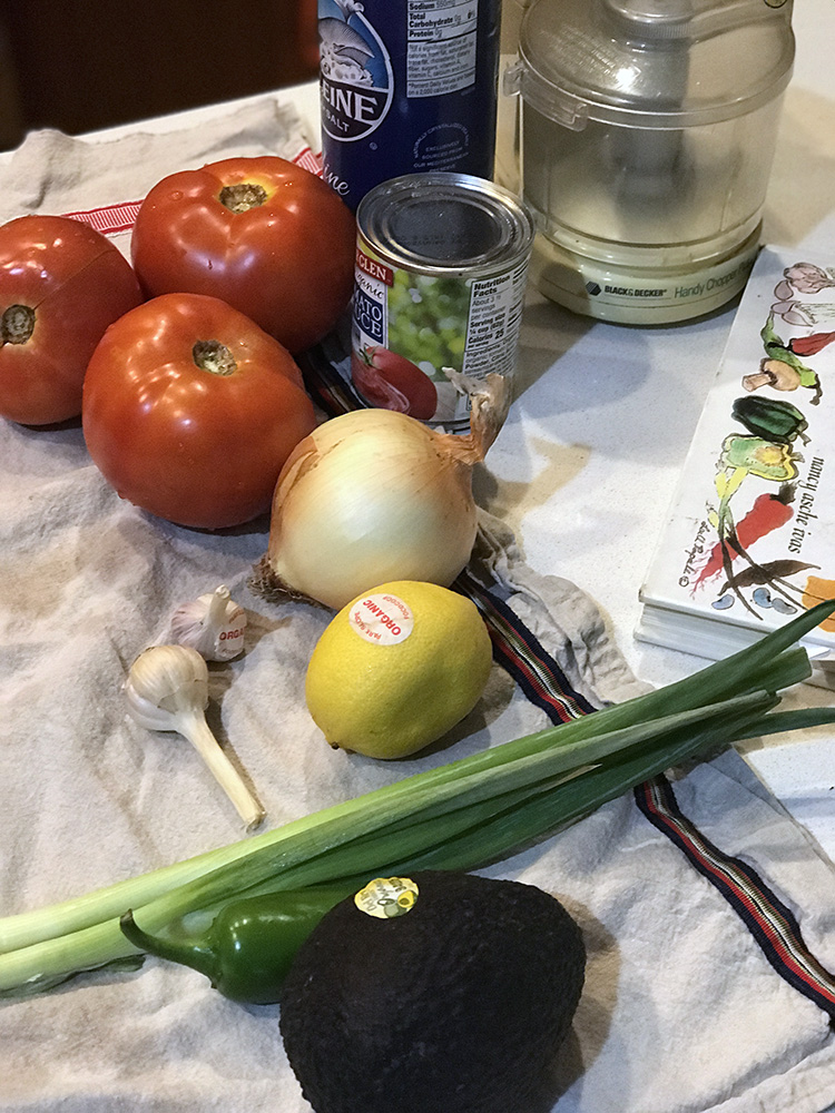 INGREDIENTS SALSA