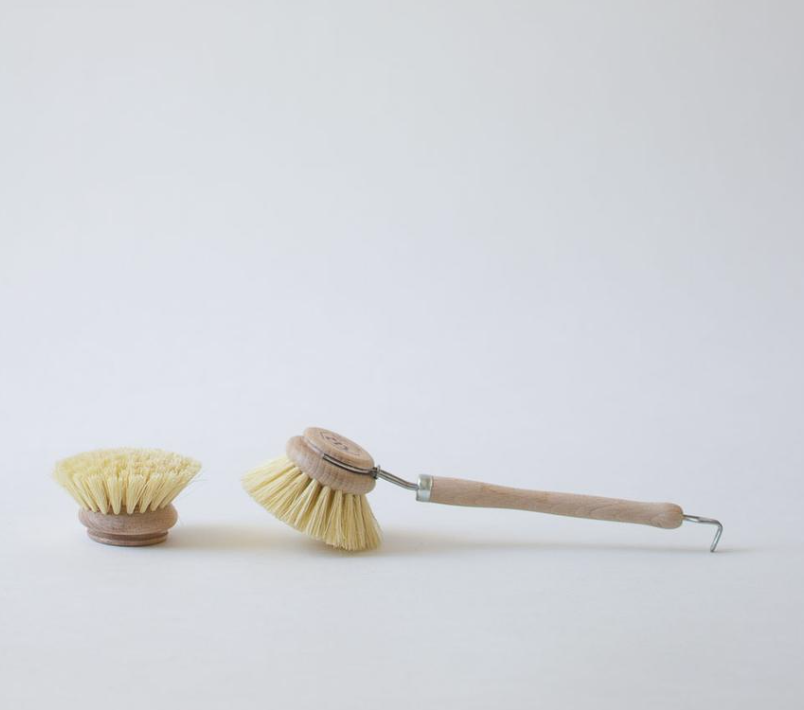 wood handle dish brush from Wild Minimalist