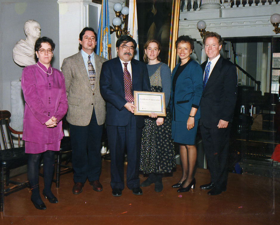 The Reuse Center was honored by the EPA in 1999