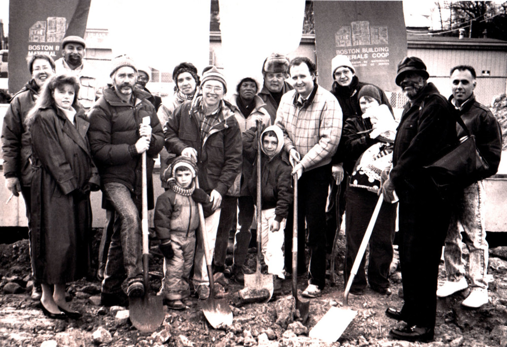 Groundbreaking, 100 Terrace Street