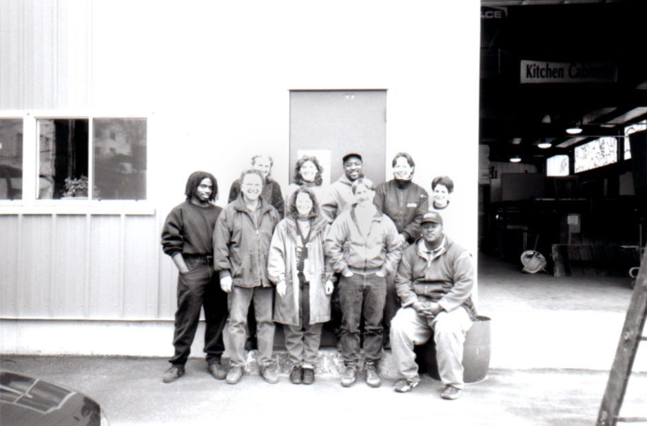 Reuse Center staff in 1998