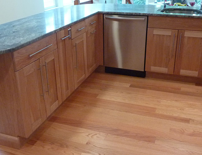 Cabinets Are Frameless