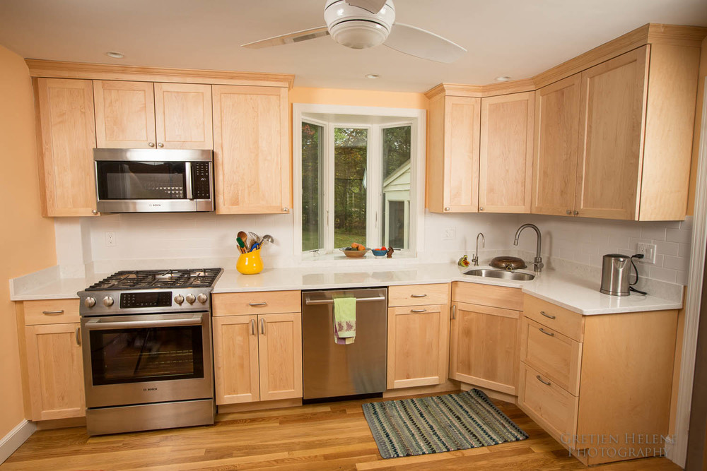 natural maple kitchen cabinets kitchens from boston building resources boston building 23707