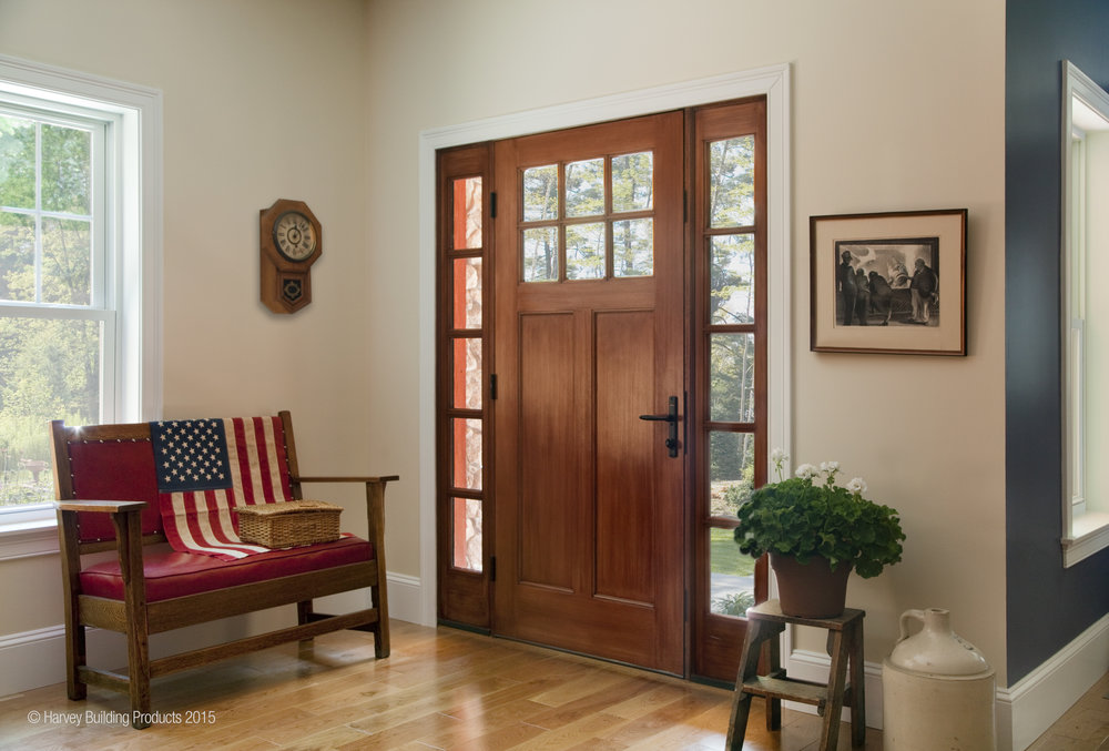 Rogue Valley Door with SideLite & Windows doors storm windows storm doors u2014 Boston Building Resources