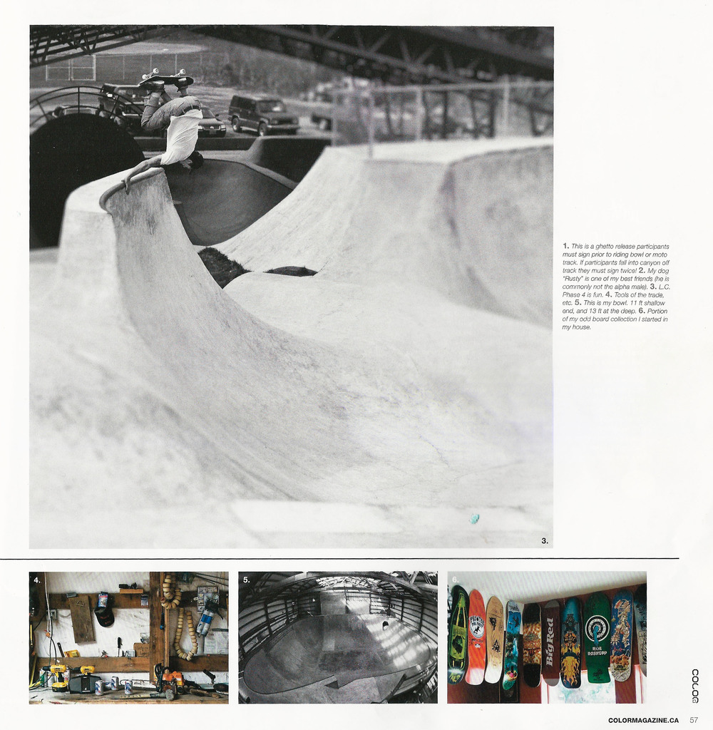 Mark Scott, Lincoln City, OR. Color Magazine. Photo: Gordon Nichols