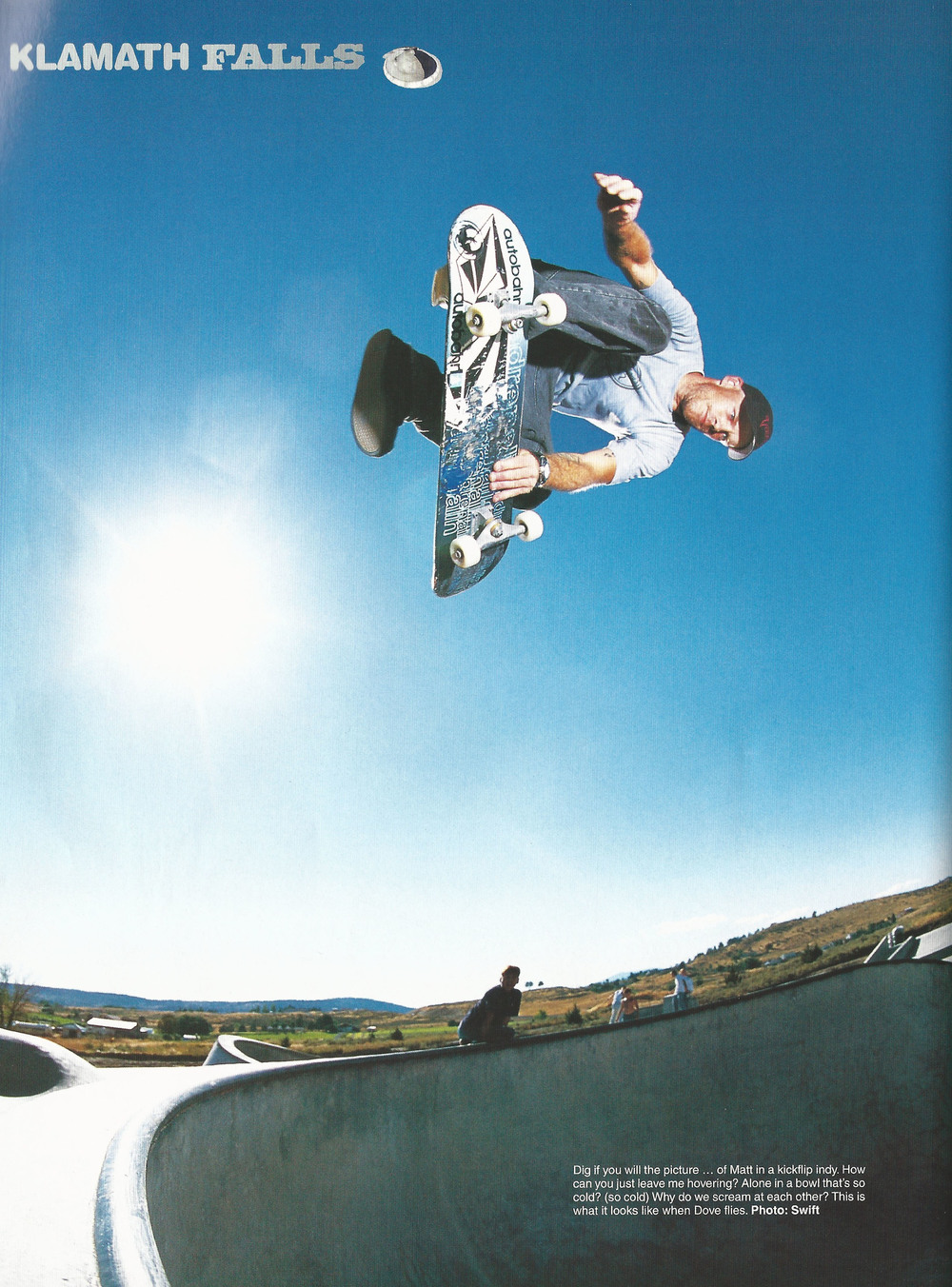 Matt, Klamath Falls, OR. The Skateboard Mag. Photo: Swift