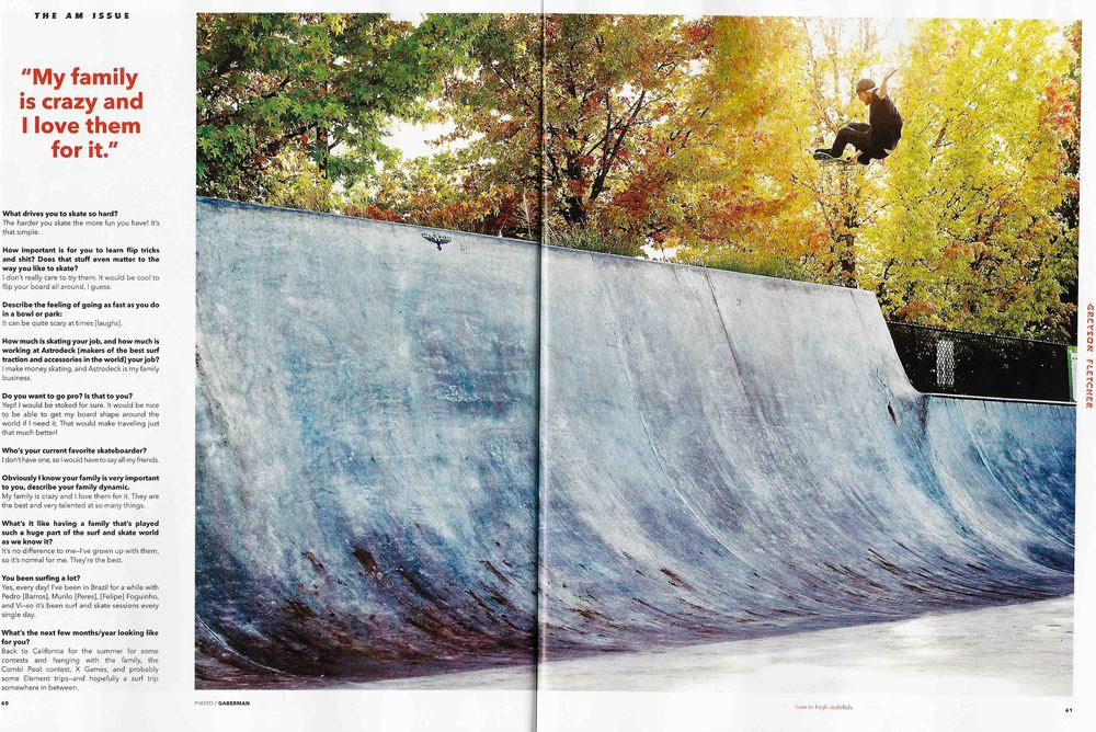 Greyson Fletcher, Tigard, OR. Transworld Skateboarding. Photo: Gaberman