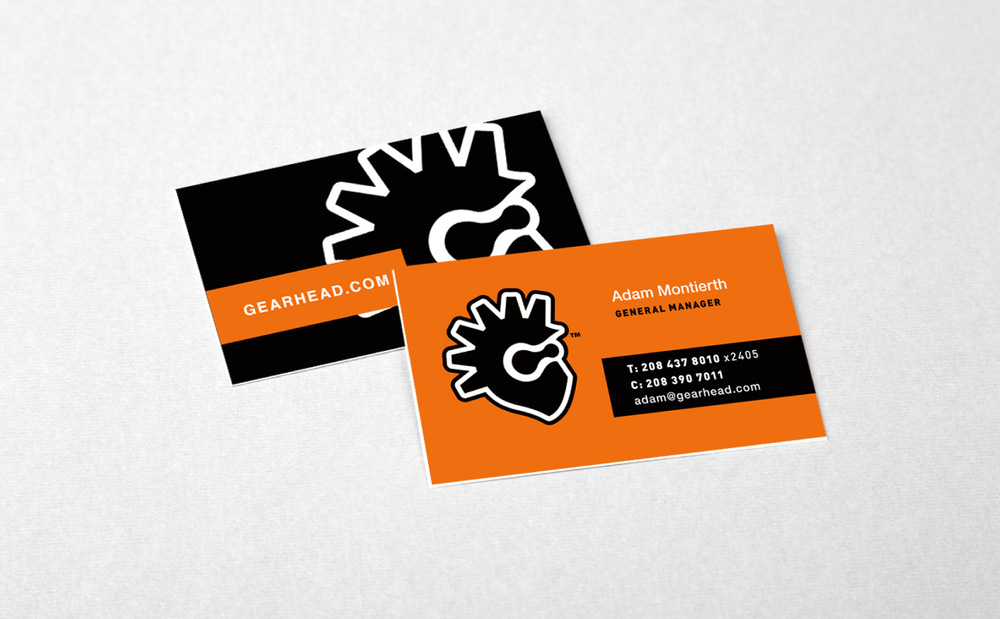 Gearhead Business Cards