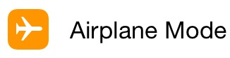 iPhoneAirplaneMode