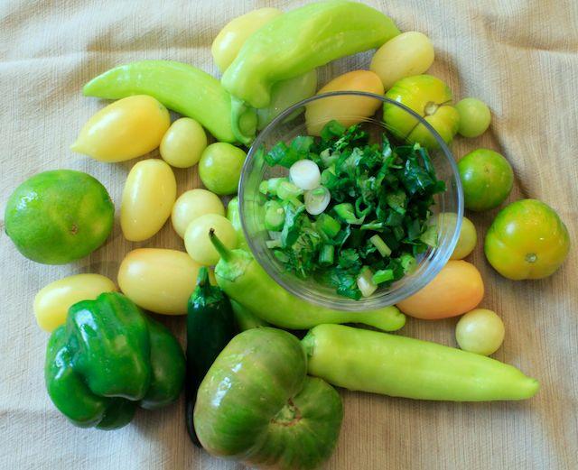 Green Salsa Ingredients