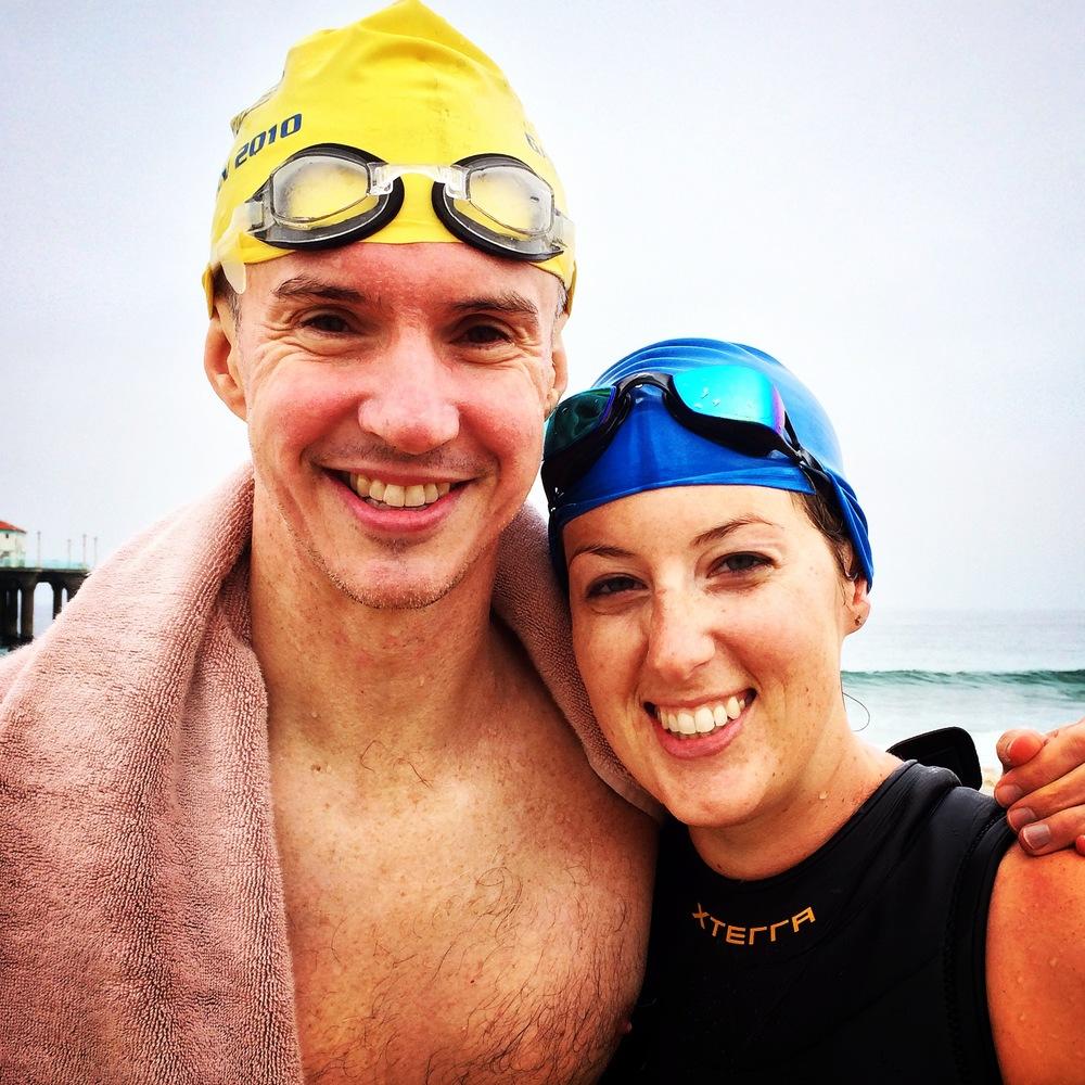 First Open Water Swim