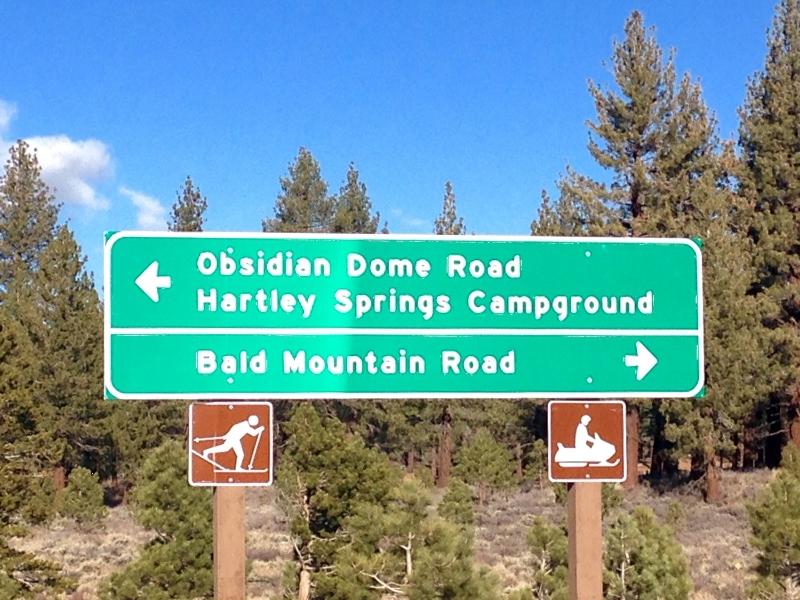 Obsidian Dome Trail