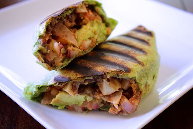 Breakfast Burrito #1