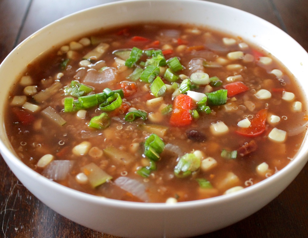 Black Bean & Corn Mexi-Style Soup