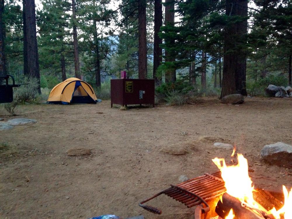 REI Tent in Tahoe