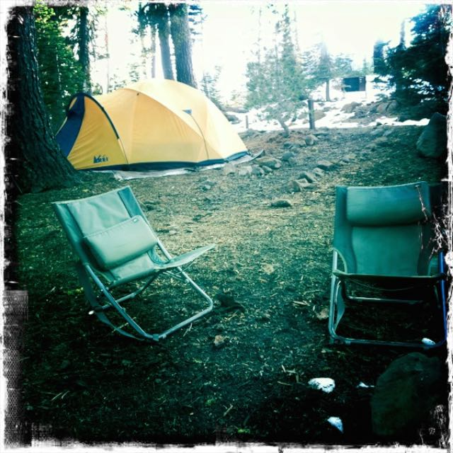 REI Tent in Lassen Volcanic National Park