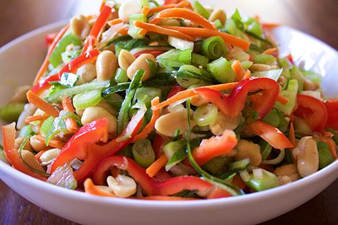 Cold Asian Cucumber Salad
